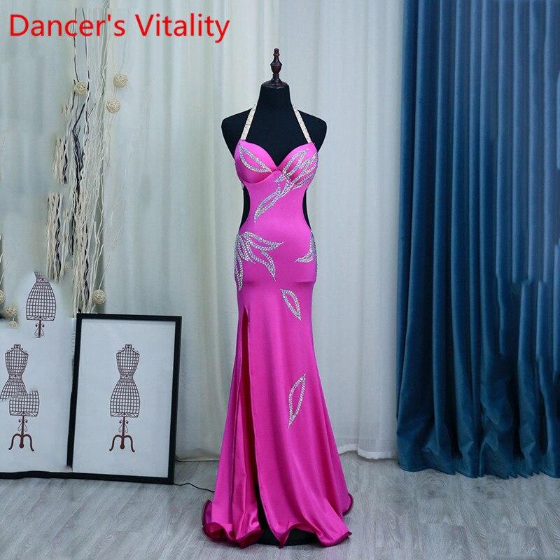 Danse du ventre performance costume mode sexy une pièce monocouche scène spectacle costume professionnel danse du ventre Costumes