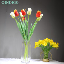 Yellow Tulip Artificial Table-Centerpiece Flower Home-Decoration Wedding Party Wholesale