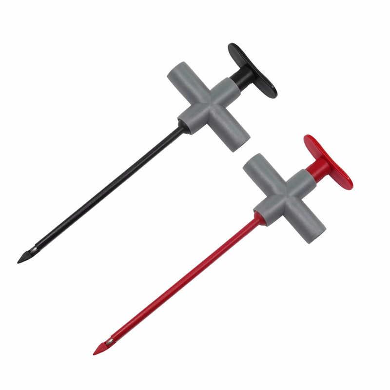 Cleqee P1200B Çok satın alma Delinme Probe Testi Kurşun Kiti 4mm Muz Fiş Testi Kurşun Değiştirilebilir Iğne Test için prob