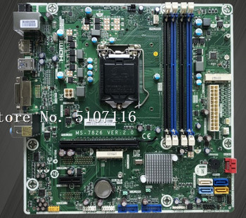 High quality desktop motherboard for 810/460 MS-7826 VER2.0 784740-001 will test before shipping