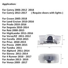 2pcs LED Car Door Welcome Light Projector Logo laser light For Toyota Camry 4 Runner Avalon Highlander Land Cruiser Prius crown