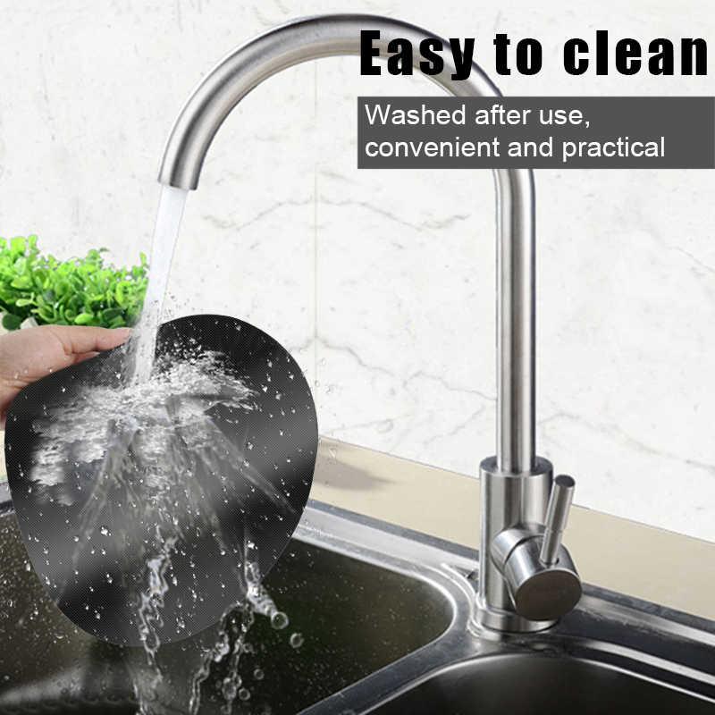 Suhu Tinggi Non-Stick Pan Frying Pan Pad Bulat Teflon Pan Liner Mencegah Menempel Makanan Pot Alat Dapur Dropship