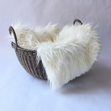 Blanket Baby Shooting-Prop Fur Hundred Days Artificial-Fur Children's