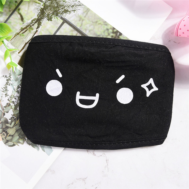 1PCS Cotton Dustproof Mouth Face Mask Anime Cartoon Kpop Women Men Muffle Face Mouth Masks 2