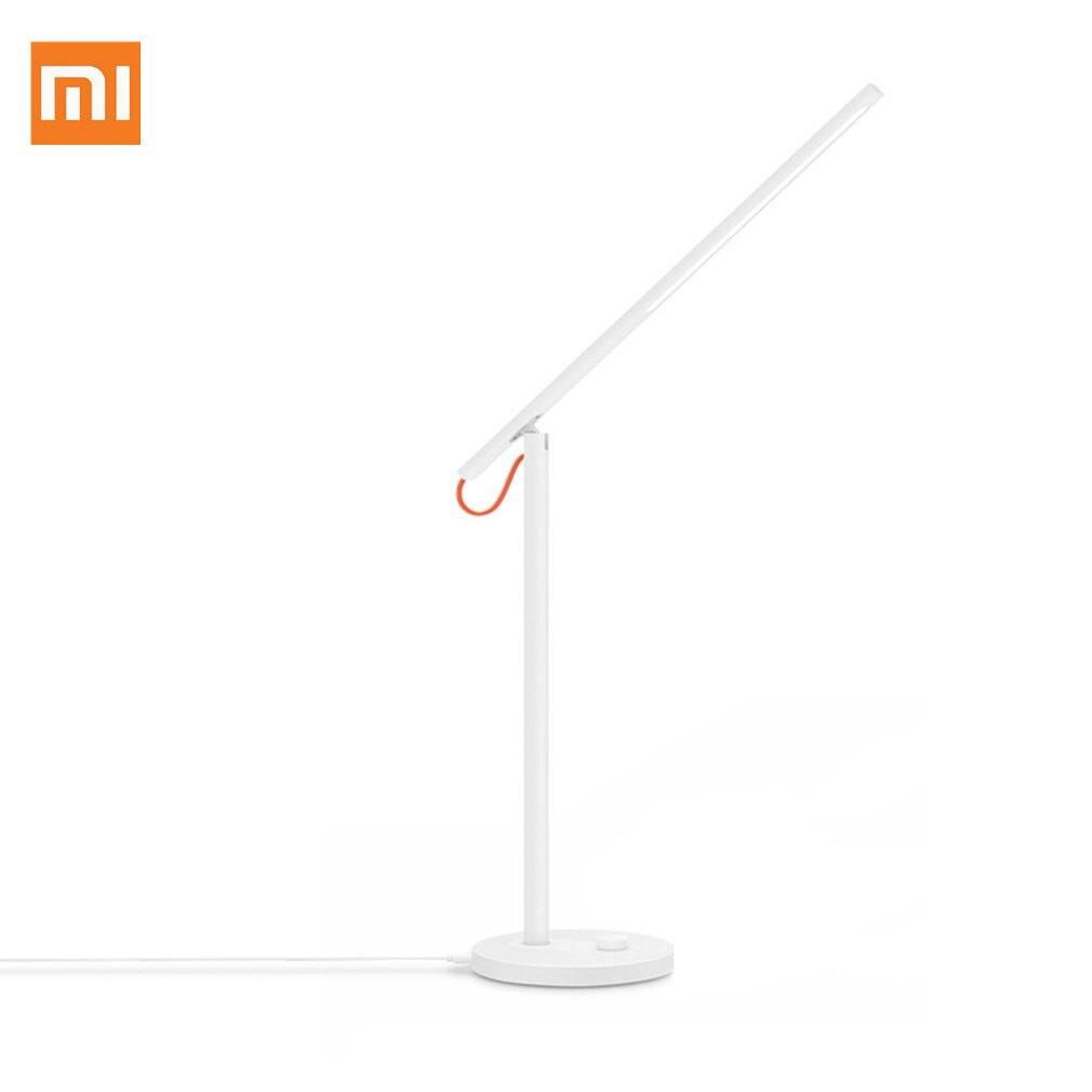 Lampe de bureau originale Xiao mi mi jia mi Smart LED lampe de Table Dim mi ng liseuse WiFi Enab LED travail avec Alexa mi Home APP 100-240V