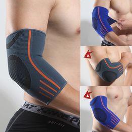 Cotovelo suporte cinta cotovelo almofada protetora absorver suor tênis golfista ginásio artrite braço manga envoltório bandagem mangas