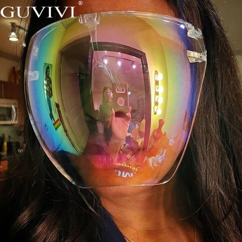 Men's Women's Faceshield Protective Glasses Goggles Safety Glasses Anti-Spray Mask Protective Goggle Glass Sunglasses 2