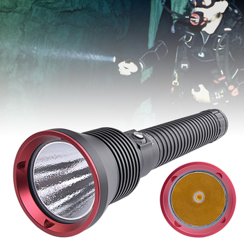 цена на TrustFire DF70 Diving Flashlight CREE XHP70 3200LM Professional LED Flashlight Underwater 70m Diver Torch Light by 26650 Battery
