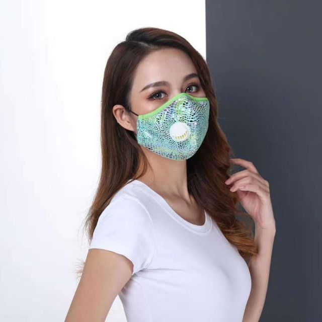 PM2.5 Black mouth Mask anti dust mask Activated carbon filter Windproof Mouth-muffle bacteria proof Flu Face Masks Protect 1