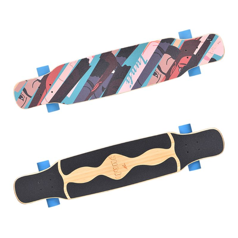 "47X10"" Longboard Skateboard  Anti-Slid Griptapes Colorful Sandpaper Grip Tape H8WC"