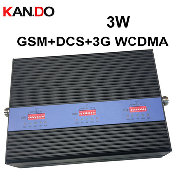 TRIBAND Booster 3W power 2G 3G 4G booster LTE repeater GSM 900 1800Mhz 2100MHZ booster DCS repeater ODM GSM booster фото