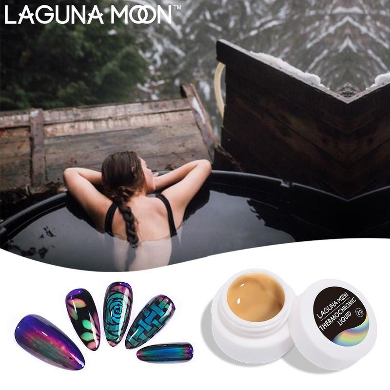 Thermochromic Liquid Gel Lacquer Color Changing Gel Nail Polish 2g Soak Off UV Gel Varnish Hybrid Semi Permanent Gel Nail Art