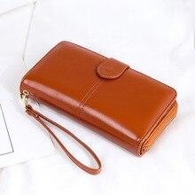 MYT_0247 Women Wallets Fashion Lady Wristlet Handbags Long Money Bag Retro wallet Large capacity hand bag Cell Phone