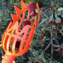 1 шт. белые/оранжевые искусственные фрукты инструмент для сбора без полюса практичный и удобный прочный садоводческий подборщик фруктов