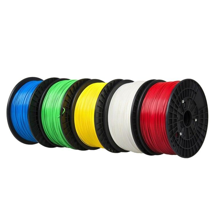 CTC 2019 Top Quality Brand 3D Printer Filament 1.75 PLA plastic Rubber Consumables Material 9 kinds colours
