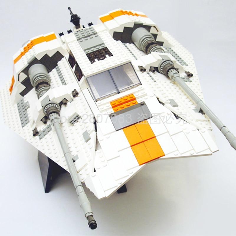 05084 Star Wars Ultimate Collector's Series UCS Snowspeeder Super Star Destroyer Building Blocks Bricks Toys Star Wars 10129