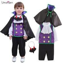 Umorden Vampire Costume for Baby Boys Toddler Infant Halloween Christmas Birthday Party Cosplay Fancy Dress