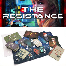 Resistance-Game Coup-Series Playing-Cards English-Version Kids Home-Party The for Adult