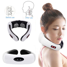 Cervical Spine Massager Electromagnetic Electric Shock Pulse Physiotherapy Heated Cervical Spine Shock Pulse Cervical multifunction neck physiotherapy massager cervical massager electromagnetic shock pulse cervical physical therapy instrument