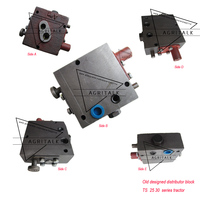 Taishan TS254 TS304 tractor parts  the distributor for OLD DESIGNED power and position control lift