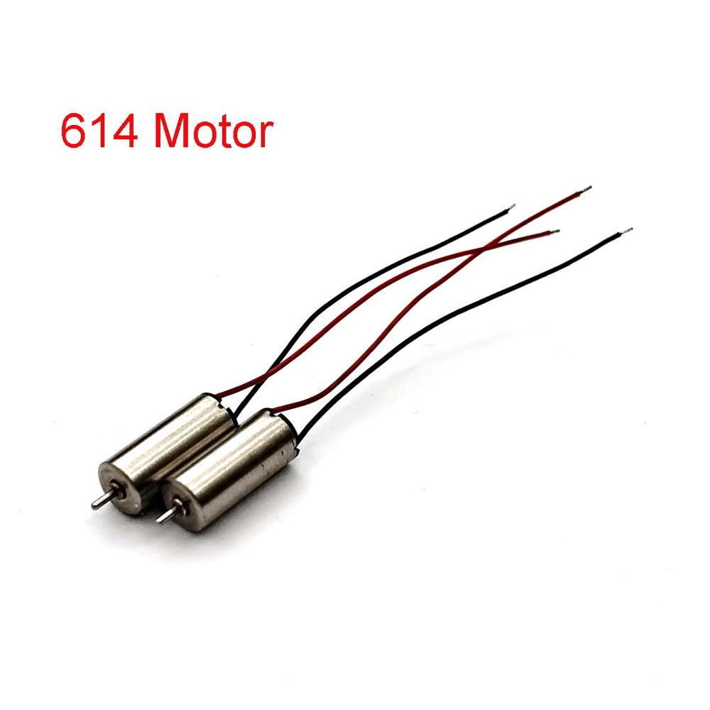3.7V DC Micro Motor 614 High Speed Brushless DC Motor For DIY Drones Toys Accessories Model Airplane