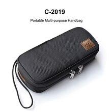 DD C 2019 contenitore multiuso portatile della borsa per FIIO M11/FH7/BTR3/F9 PRO SHANLING UP2/M5S/MWS HIFI Music Player auricolare