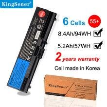Bateria kingsener para laptop, para lenovo thinkpad sl410 sl410k sl510 e40 e50 e420 t510 l412 t420 t510 l420 l521 55 +