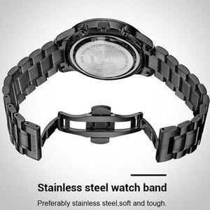 Image 5 - Swish Horloge Mannen 2020 Waterdicht Roestvrij Staal Fashion Sport Quartz Horloge Klok Heren Horloges Top Brand Luxe Man Horloge
