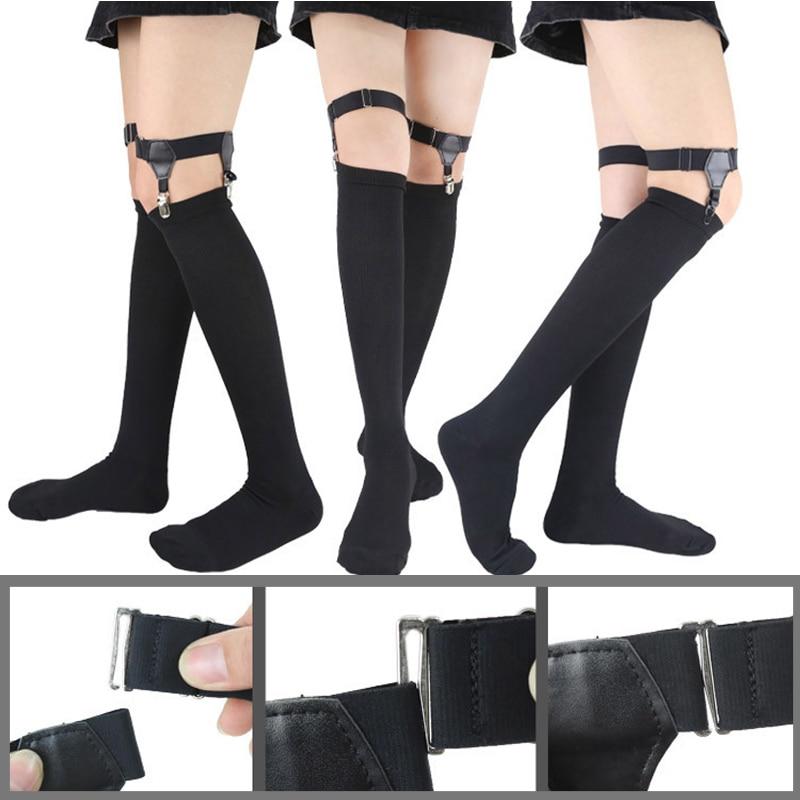 New Arrival Stockings Anti-slip Clip High Elastic Suspender Socks Garters Anti-slip Clip Belt