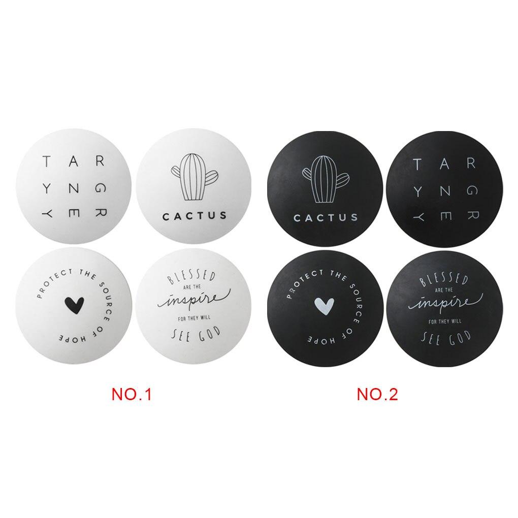4pcs Door Lock Protector TPR Doorknob Protective Shockproof Mat Pad Door Handle Collision Proof Pad