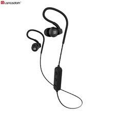 BS80 Wireless Earbud V4.2 Sport Sweatproof Bluetooth Earphone Headset In-Ear Noise Canceling Headphone With Mic For Mobile Phone new arrival sweatproof sport bluetooth earphone wireless headphone hands free with mic for mobile phone