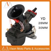 For YD28/30 Motorcycle Carburetor Yoshimura For YD MJN28 30 Dual Stack Carburetor Power Up Kit For Honda Monkey ATV Quad Go Kart