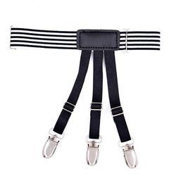 Для мужчин против морщин держать рубашки остается ремень Зажимы скрытые ноги бедра подвязки Suspend 40JF