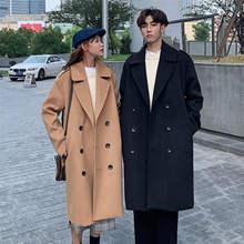 Зимнее пальто для женщин 2020 модные тенденции двубортный чёрного