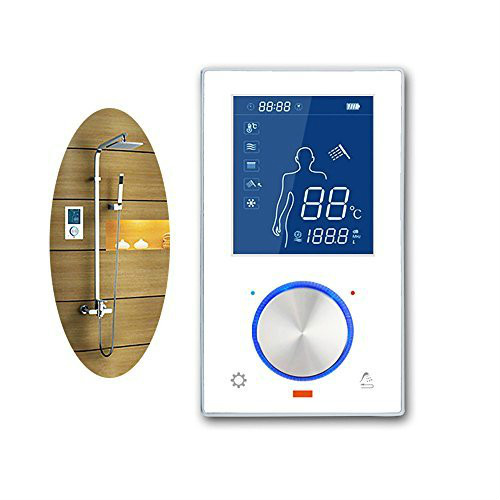 LCD Smart Touch Screen Digital Control Mixer Thermostatic Shower Panel Digital Valve
