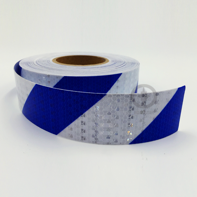 5CMX10M Twill Shiny Reflective Warning Tape Traffic  Construction Site Reflective Sign Sticker