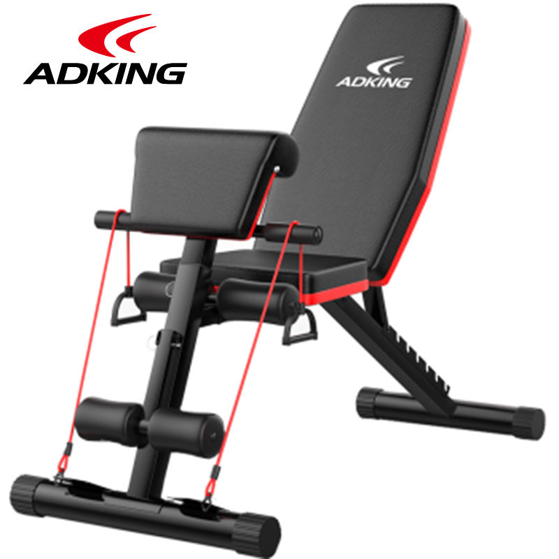 Adjustable Foldable Workout Weight Bench Gym Bench Press Exercise Bench for Full Body Workout Home Gym Utility Bench with Incline Decline Flat