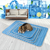 Pet Dog Pad Summer Cooling Mat Breathable Dog Bed Ice Silk Pad Moisture-Proof Blanket Sofa Cool Cushion For Dogs Sleeping Mat