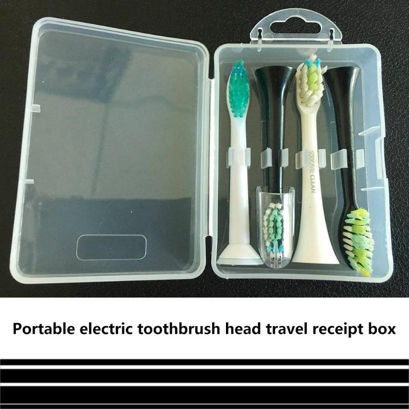 Electric Toothbrush Head Storage Case Transparent Travel Portable Box Universal Holder for Philips Oral B Sushi Panasonic image