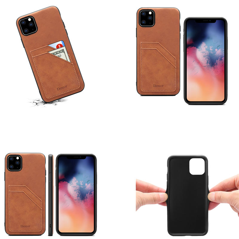 Double Card Leather Case for iPhone 11/11 Pro/11 Pro Max 3
