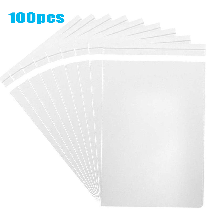 Transparent Thick Self-adhesive Bag Clear Package Storage Bags Small Plastic Self Sealing Cellophane Packing Poly Bags