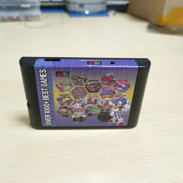 Retro 830 in 1 EDMD Game Cartridge For USA/EUR/Japan Sega MegaDrive Genesis MD Game Console