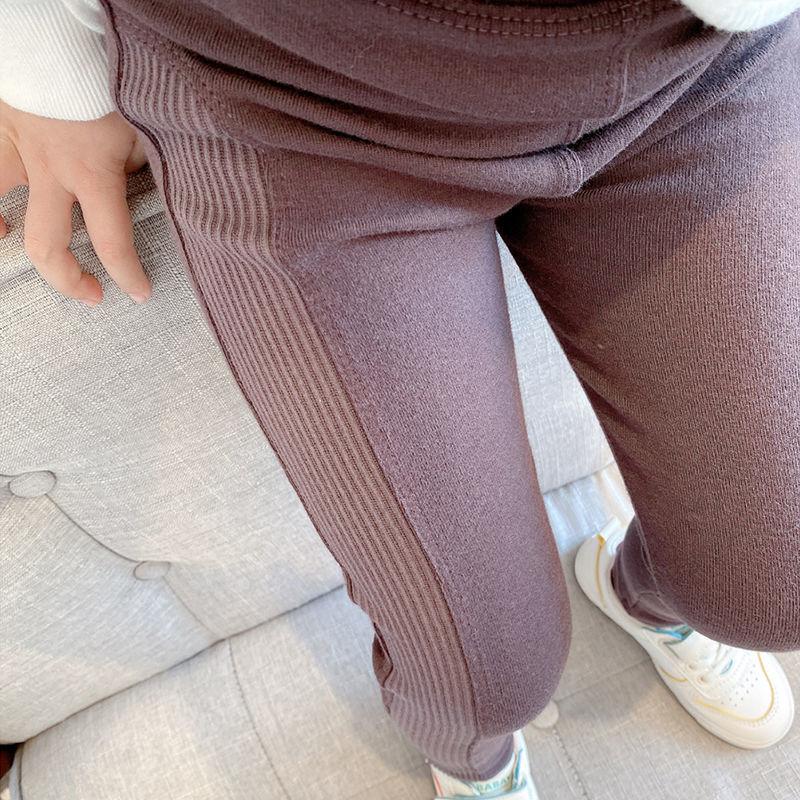 Vidmid New Grils Pants Children Winter Thick Fleece Warm Trousers Girls Leggings Warm Elastic Waist Cotton Leggings P215 3