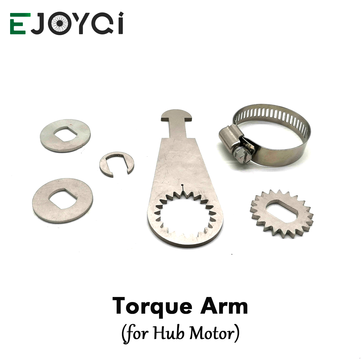 EJOYQI Torque Arm Electric Bicycle Conversion Kit V Brake Torque Arm for Hub Motor
