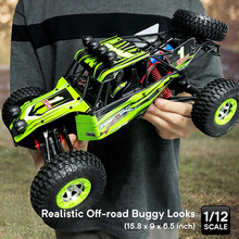 RC Car 4WD 1/12 2.4G 48km/h High Speed Updated Version RTR Rc truck Radio Control Buggy Off-Road vehicle Electric Toy Xmas Gifts team magic tm e5 rc car electric brushless off road vehicle 1 10 foot truck tire leather 510136
