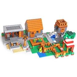 DHL 18010 Meu Mundo Brinquedos de Blocos de Construção Tijolos Brinquedos Compatível com 21128 do Meu Mundo A Minha Aldeia conjunto Tijolos de Presente de natal brinquedos do miúdo