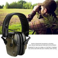 Electronic Shooting Earmuff Anti noise Impact Ear Protector Outdoor Sport Sound Amplification Headset Foldable Hearing Protector|Ear Protector| |  -