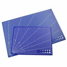 Cut-Pad-Board Cutting-Mat Workbench Patchwork Handmade PVC DIY Knife Engraving Blue Single-Side