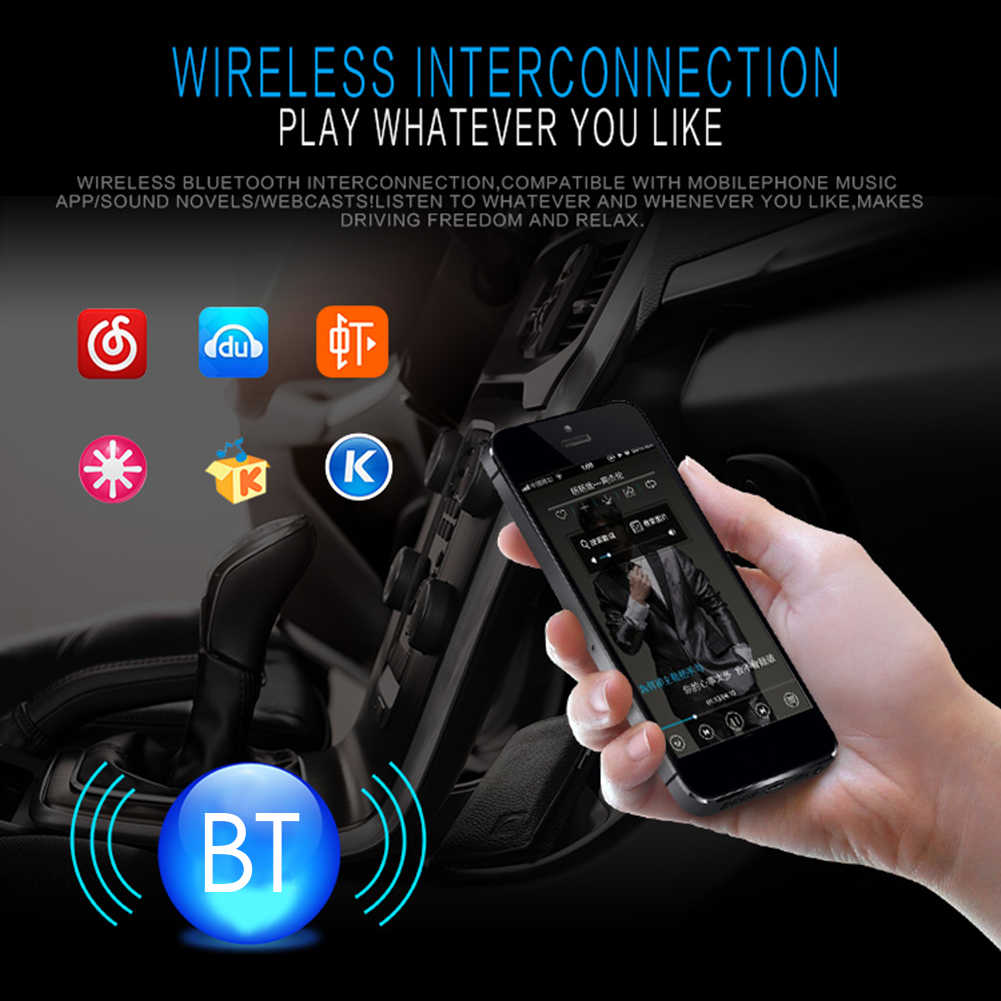 Einzigen 1Din Auto Stereo MP3 Player In Dash Autoradio Head Unit Bluetooth USB AUX FM Radio Stereo Sound Wirkung