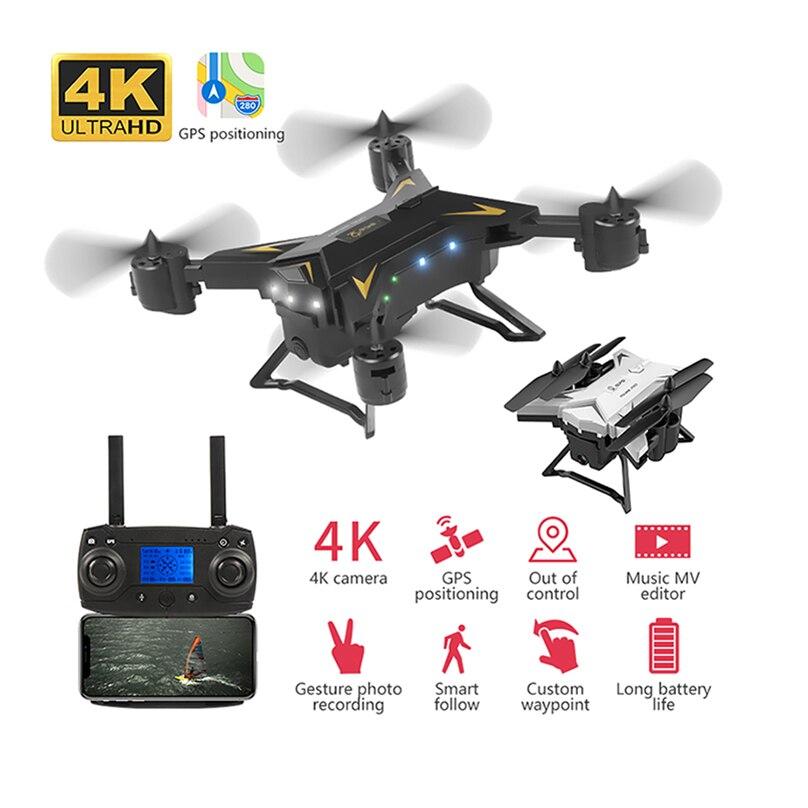 JMT Pro Faltbare GPS Drone KY601G 4K HD Kamera 5G WIFI FPV Drone LED 2,4G 4CH 1,8 km Lange Abstand 20 Minuten Flug RC Quadcopter
